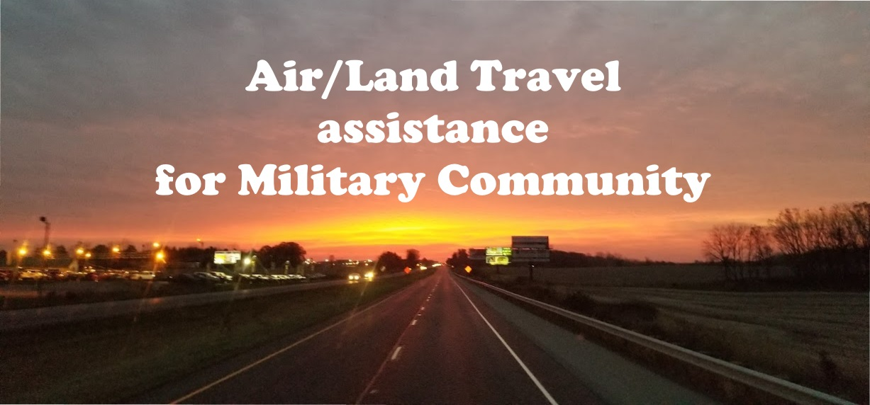 Air/Land transportation assistance for the military community